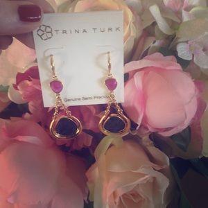 ✨GORGEOUS ✨ AUTH Trina Turk earrings, BNWT.  ✨